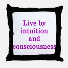 Intuition Consciousness Throw Pillow