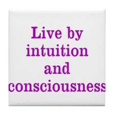 Intuition Consciousness Tile Coaster