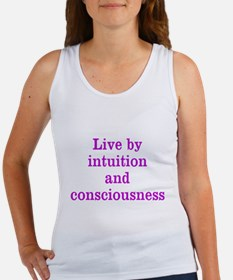 Intuition Consciousness Tank Top
