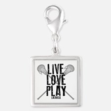 Live, Love, Play Lacrosse Charms