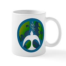 Earth Peace Sign Mugs