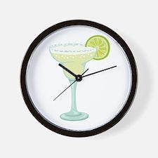 Margarita cocktail Wall Clock