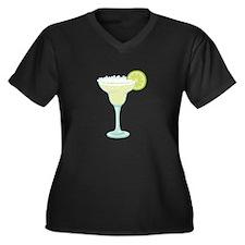 Margarita cocktail Plus Size T-Shirt