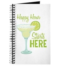 Happy Hour Starts HERE Journal
