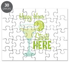 Happy Hour Starts HERE Puzzle