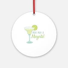 Make Mine A Margarita! Ornament (Round)