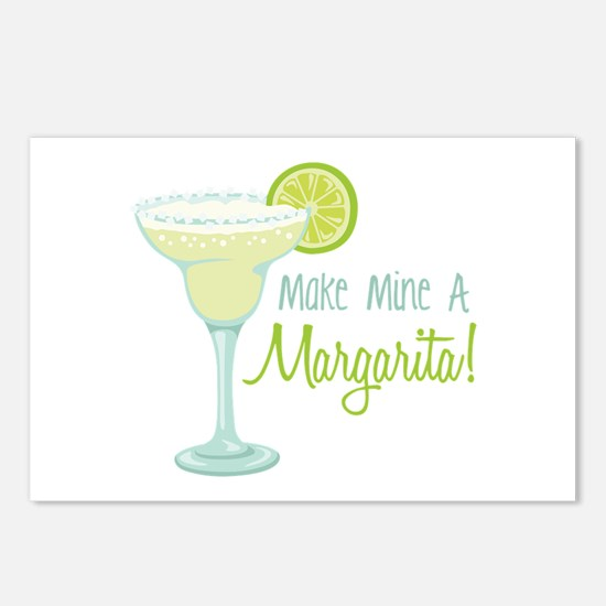 Make Mine A Margarita! Postcards (Package of 8)