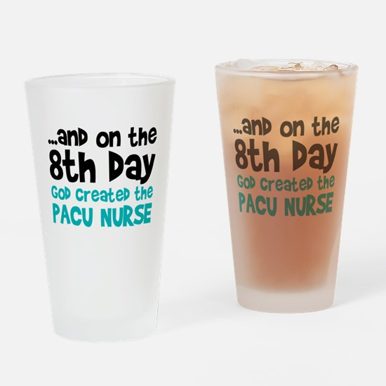 PACU Nurse Creation Drinking Glass