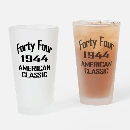 1944, 70th Birthday Drinking Glass
