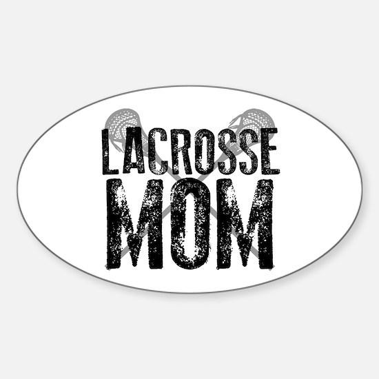 Lacrosse Mom Decal