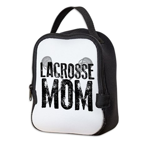 Lacrosse Mom Neoprene Lunch Bag