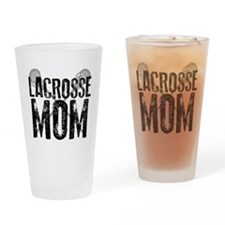 Lacrosse Mom Drinking Glass