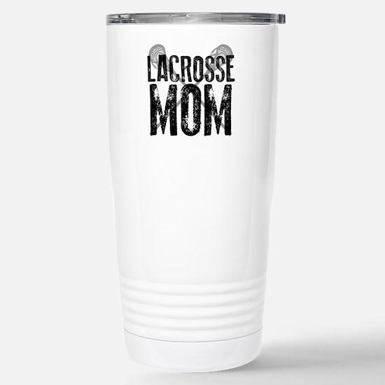 Lacrosse Mom Travel Mug
