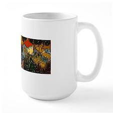 Van Gogh Ploughman Landscape Allover Mug