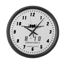 A-10 Large Wall Clock