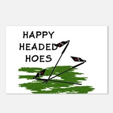 Happy Headed Hoes Postcards (Package of 8)