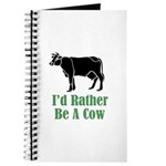 Rather Be A Cow Journal