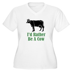 Rather Be A Cow T-Shirt