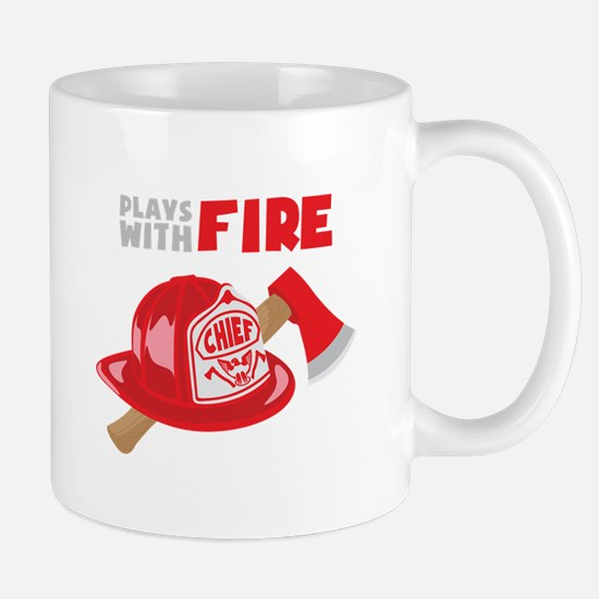 Plays With Fire Mugs