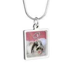 Carrie-Valentine Angel Bunny Necklaces