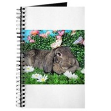 Phoebe-Spring Butterflies Bunny Journal