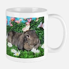 Phoebe-Spring Butterflies Bunny Mugs