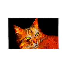 Tabby Cat 3'x5' Area Rug