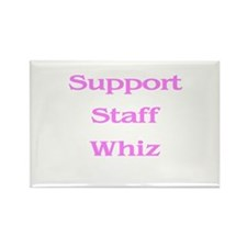 Support Whiz Rectangle Magnet (10 pack)