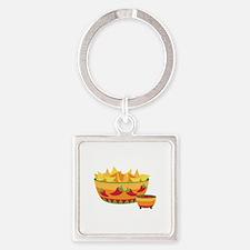 Tortilla chips salsa Keychains