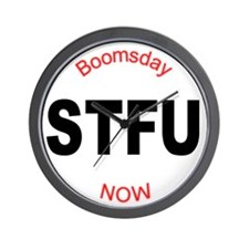 STFU - Boomsday Now! Wall Clock