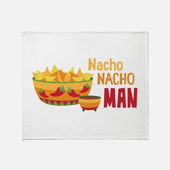 Nacho NACHO MAN Throw Blanket