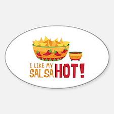 I Like My SALSA HOT! Decal