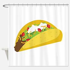 Taco Shower Curtain
