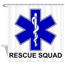 BSL Rescue Squad Shower Curtain