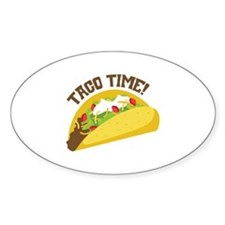 TACO TIME! Decal