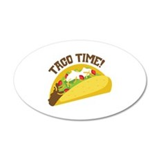 TACO TIME! Wall Decal