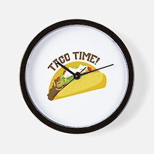 TACO TIME! Wall Clock