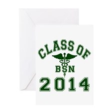Class Of 2014 BSN Greeting Card