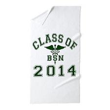 Class Of 2014 BSN Beach Towel