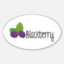 Blackberry Fruit Decal