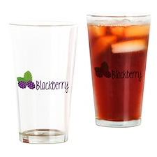 Blackberry Fruit Drinking Glass