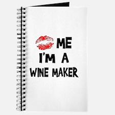 Kiss Me I'm A Wine Maker Journal