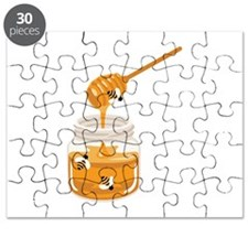 Honey Bees Jar Puzzle