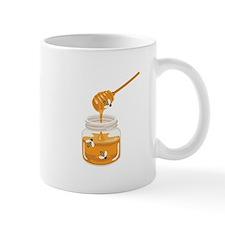 Honey Bees Jar Mugs