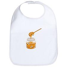 Honey Bees Jar Bib
