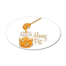 Honey Pot Wall Decal