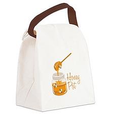 Honey Pot Canvas Lunch Bag