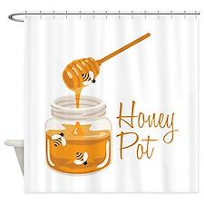 Honey Pot Shower Curtain