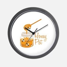 Honey Pot Wall Clock