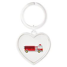 Fire Truck Keychains